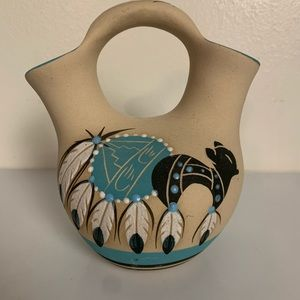Native American Pottery Wedding Vase Betty Shelby